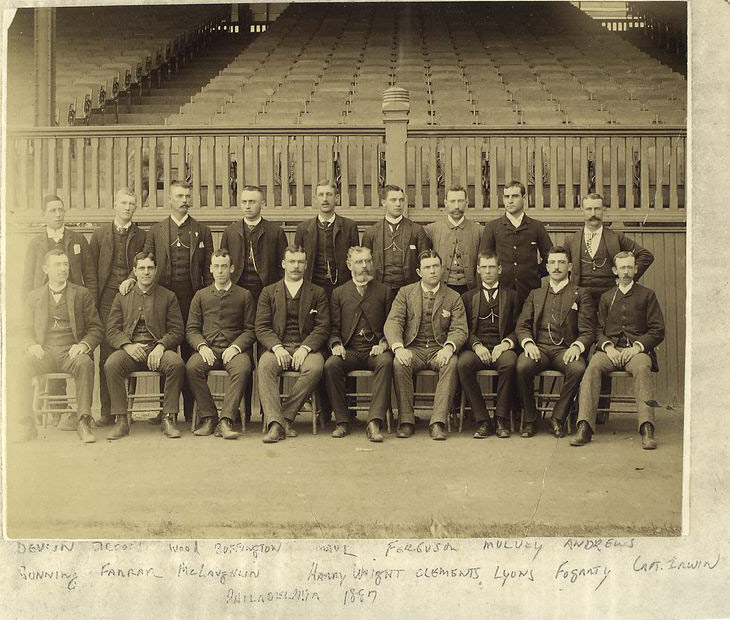 1880s Philly Sports History