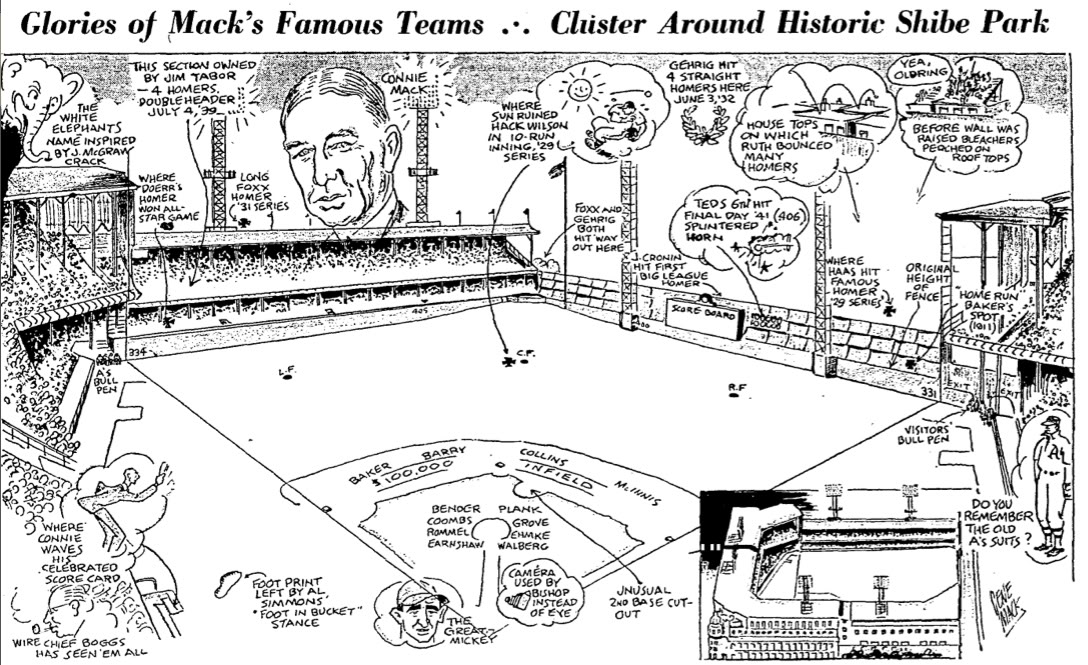 Awesome Drawing of Shibe Park