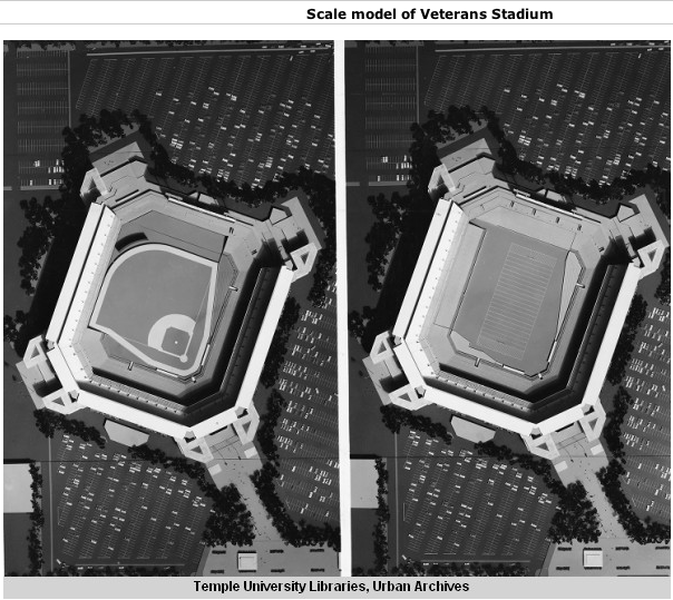 1965 Proposals for Vet Stadium, and Subsequent Dome Proposals