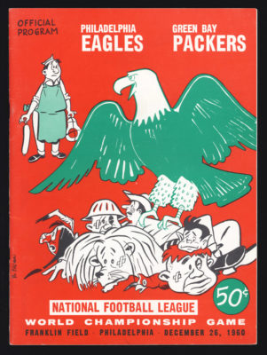 1960 NFL Championship Game Program