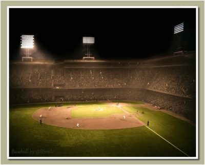 Incredible photo of the first ever night game in American League history ade5b2efa2b02